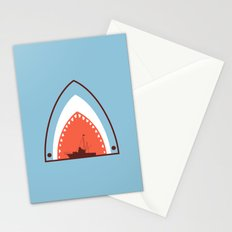 Great White Attack Stationery Cards