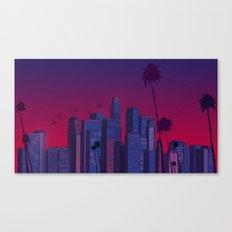 Los Angeles, Live! Canvas Print