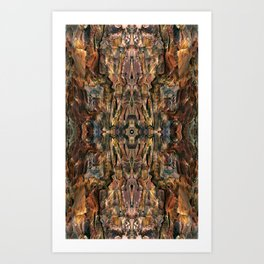 Elegant Bark Art Print