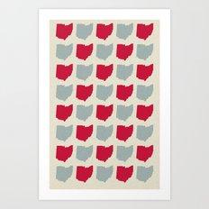 Ohio Made Art Print