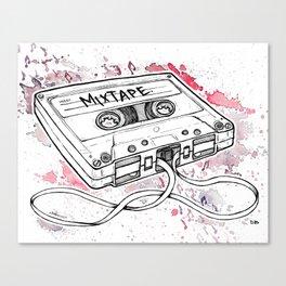 Mixtape (Splash Music) Canvas Print