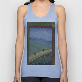 Vincent Van Gogh - Japanese - Plum Tree in Bloom Unisex Tank Top