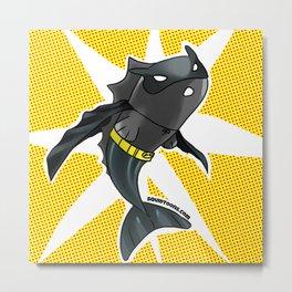 The Batfish Metal Print