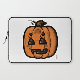 Pumpkin Bby: Spooky-ooky Collection Laptop Sleeve