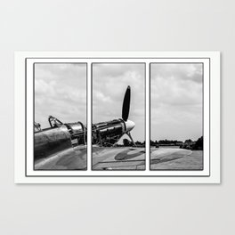 Hawker Hurricane Tryptych Canvas Print