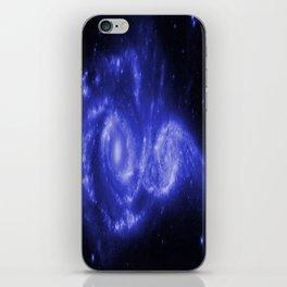 Blue Universe iPhone Skin