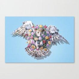 Birds in Bloom Canvas Print