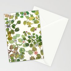water color garden with flowers! ( Stationery Cards