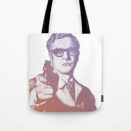 Michael Caine Tote Bag