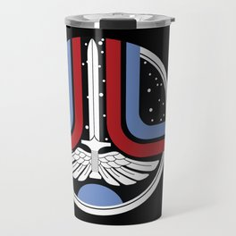 Last Starfigter Arcade Cabinet Artwork Travel Mug