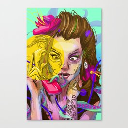Oktapodi Canvas Print