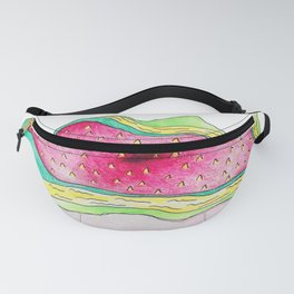 Red Cosmos Fanny Pack