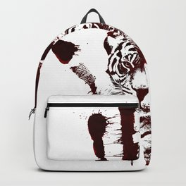 Conflict of Tiger Backpack