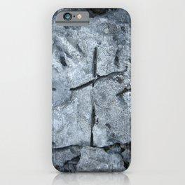 The limestone cross iPhone Case