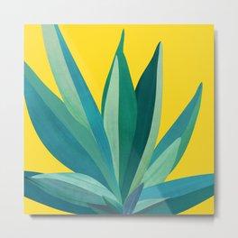 Spring Cactus / Pop Botanical Series Metal Print