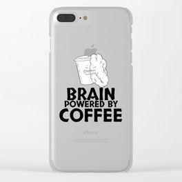 Humor Coffee Before Talkie Dyed Shirt Addict and Bar Tea Wine Baby Art Clear iPhone Case