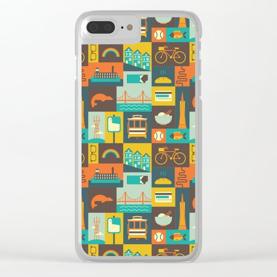 San Francisco Clear iPhone Case
