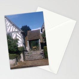 Mary Arden Home * 1950's * Barnyard * Stratford * England * Kodachrome * English Art Print Stationery Cards