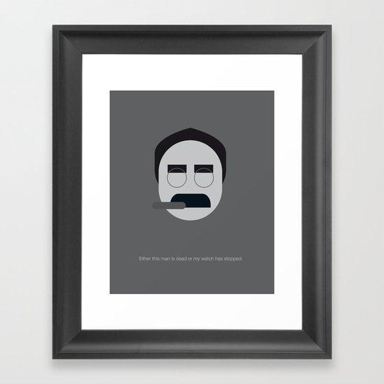 FC - Groucho Framed Art Print