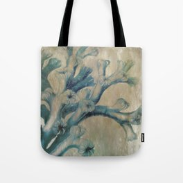 Blue Coral Tote Bag