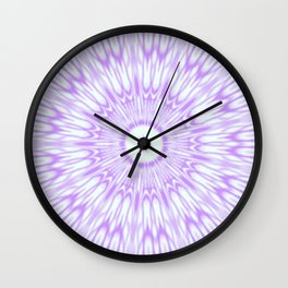 Lavender. Kaleidoscope Wall Clock