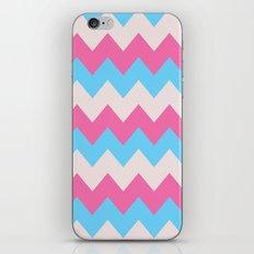 Cotton Candy Chevron iPhone & iPod Skin