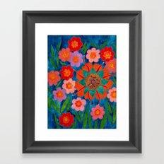 Saturnina Framed Art Print