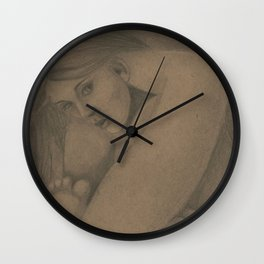 Confinement Wall Clock