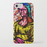 mona lisa iPhone & iPod Cases featuring Mona Lisa by Alec Goss
