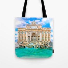 La Dolce Vita - Rome's Trevi Fountain Tote Bag