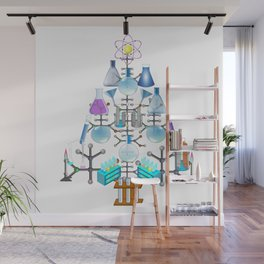Oh Chemistry, Oh Chemist Tree Wall Mural