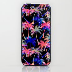 Falling Palms - Nightlight iPhone & iPod Skin