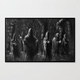 Knife in the Dark Canvas Print