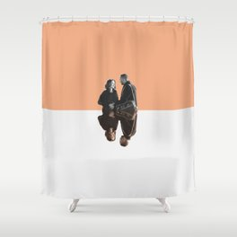 April and Jackson Shower Curtain
