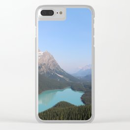 Peyto Lake Clear iPhone Case