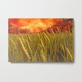 You are going to reap just what you sow Metal Print