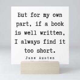 11    | Jane Austen Quotes | 190722 Mini Art Print