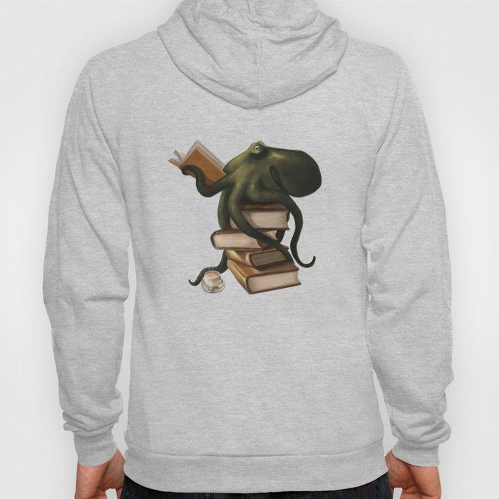 Well-Read Octopus Hoodie