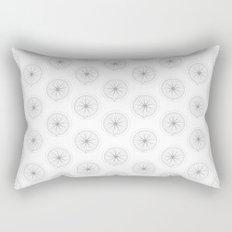Bike Wheel Pattern Rectangular Pillow