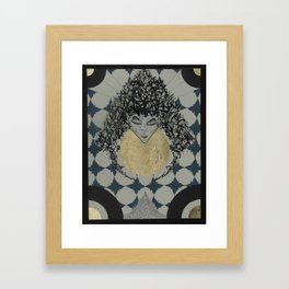 Lady. Framed Art Print