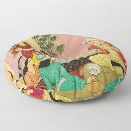 King Agib by Rudolf Koivu Floor Pillow
