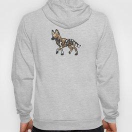 8-bit African Wild Dog Hoody