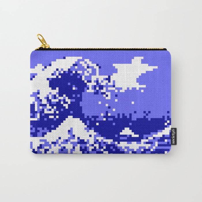Pixel Tsunami Carry-All Pouch