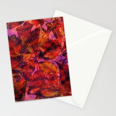 FALL GOLDEN LEAVES Stationery Cards