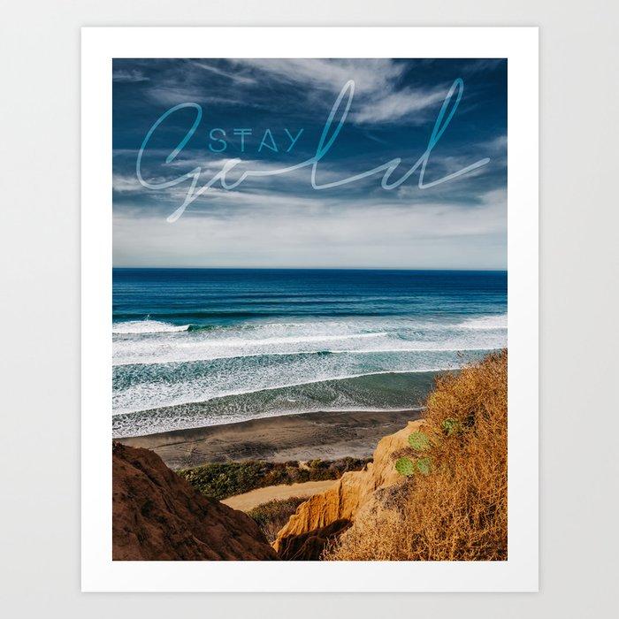 Torrey Pines San Diego Art Print