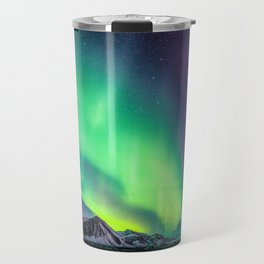 Northern Lights in Iceland Travel Mug