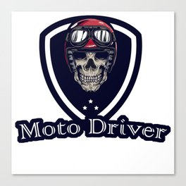Moto Drive special design for special customer Canvas Print