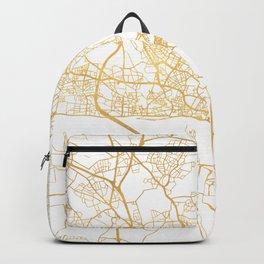 HAMBURG GERMANY CITY STREET MAP ART Backpack