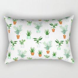Plants N' Pots Rectangular Pillow