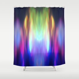 Abstract Moments Shower Curtain